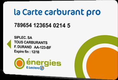 La Carte Carburant Pro