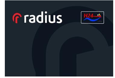 Tarjeta Radius H24