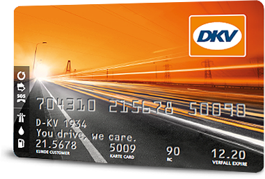 Tarjeta de combustible DKV