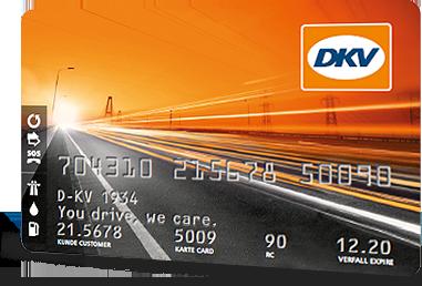 Tarjeta de combustible DKV Internacional