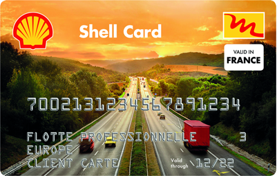 Carte de Carburant Shell