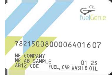 fuelGenie fuel card