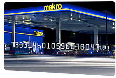 Carte de carburant Makro