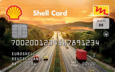 Shell Tankkarte