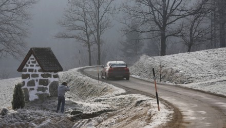 MOTORSPORT - EUROPEAN RALLY CHAMPIONSHIP 2014 - JANNER RALLY (AUT) - 3 TO 5/01/2014 - PHOTO : FRANCOIS BAUDIN / DPPI - RECCE