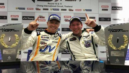 Duncan Tappy/Benny Simonsen vinder GT Asia 2015. Foto: Absolute Racing