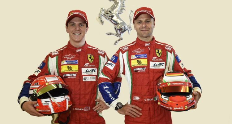 Bruni and Calado team up in 488 GTE no. 51