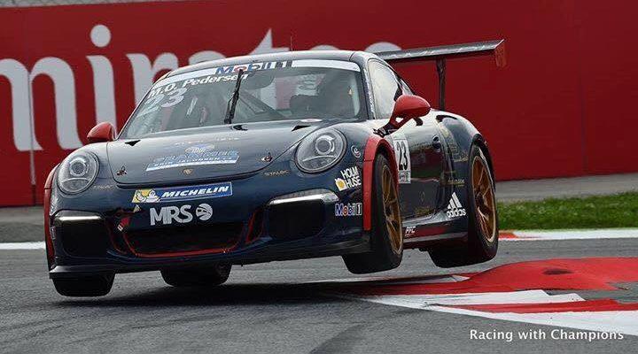 Mikkel O. Pedersen, Porsche Supercup Barcelona 2016 Foto: Molitor Racing Systems