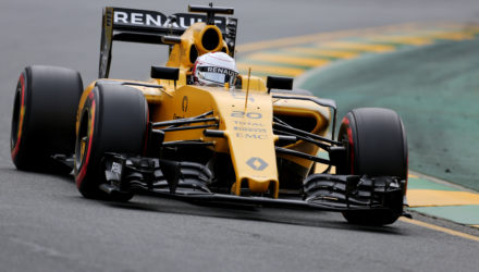 Kevin Magnussen (DEN) Renault Sport F1 Team RS16. Australian Grand Prix, Saturday 19th March 2016. Albert Park, Melbourne, Australia. Formel 1 kvalifikation.