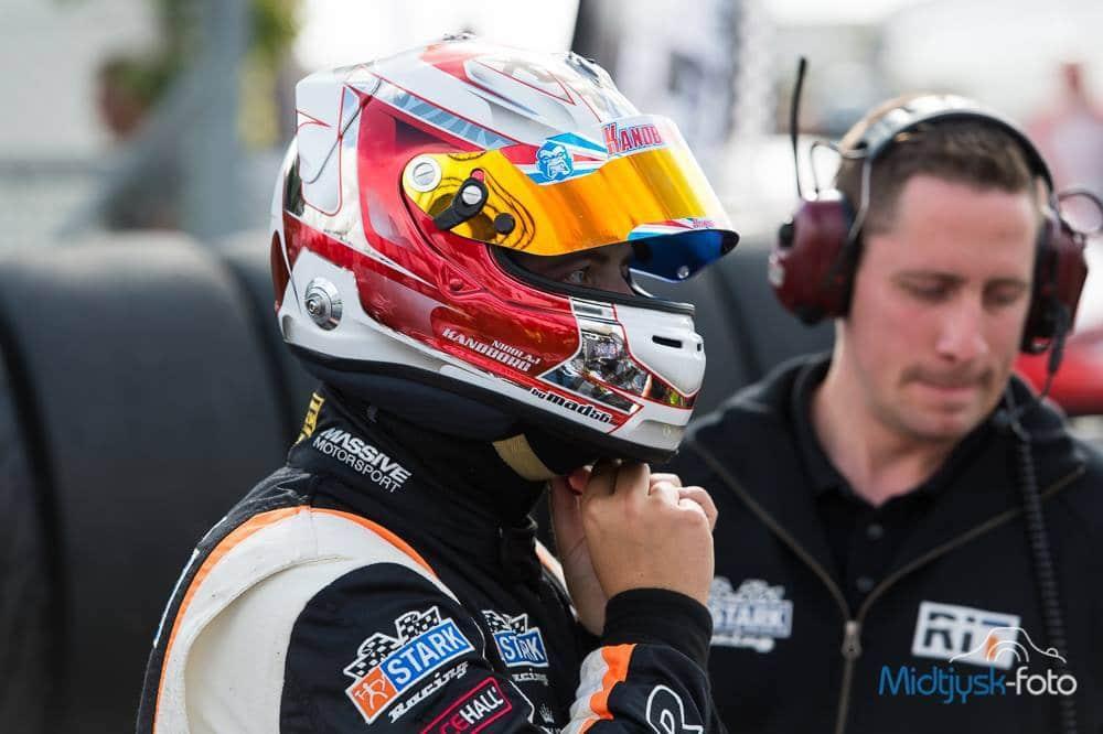 Efter en sæson i DTC for Massive Motorsport skifter Nicolaj Kandborg nu til Danmarks anden store motorsportsserie, nemlig Danish Supertourisme Turbo. Foto: Midtjysk-foto v/ Ole Mørk.