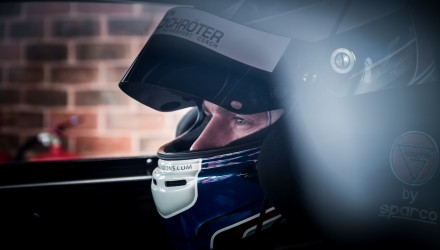 Morten Dons, British GT, Ginetta G55 GT4. Foto: Gripping Media