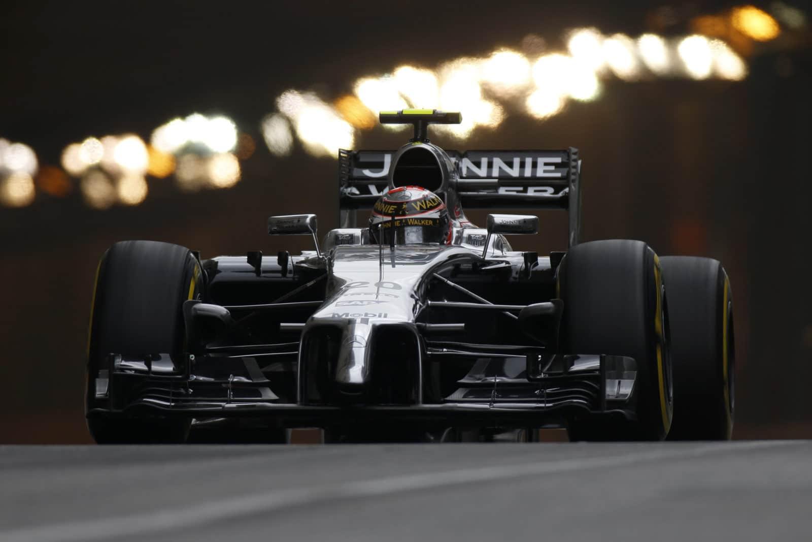 Kevin Magnussen, Monaco, practise, 2014 Foto: McLaren