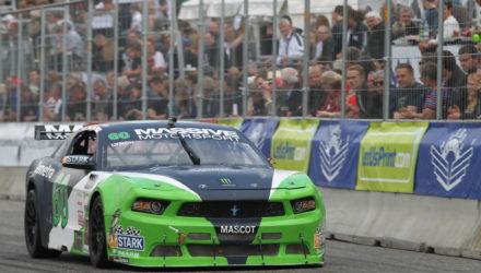 Bil nummer 60 er tidligere blevet kørt af Nicolai Sylvest og Shane Lynch. Nu skal Lasse L. Sørensen (foto Henning Smed)