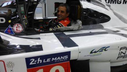 Juan Pablo Montoya tester Porsche 919 - foto: JPM på Twitter