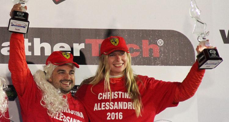 Christina Nielsen og Alessandro Balzan bliver holdkammerater igen i 2017