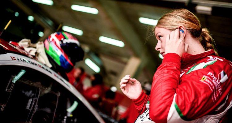 Christina Nielsen Formula Racing Imola 2016 Photo Gary Parravani