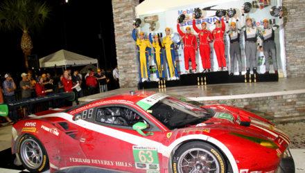 Christina Nielsen er tilbage i USA, hvor hun i sin Ferrari 488 i weekenden deltager i tredje afdeling af IMSA mesterskabet.