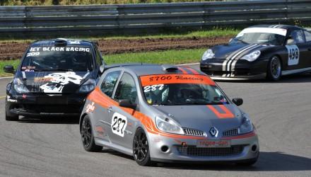 Renault Clio III Porsche 996 GT3 Cup