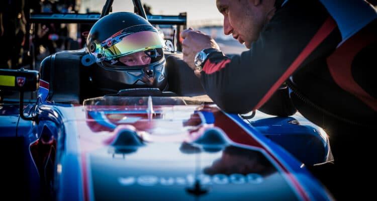 Christian Rasmussen i St. Pete. Foto: Christian Rasmussen Racing