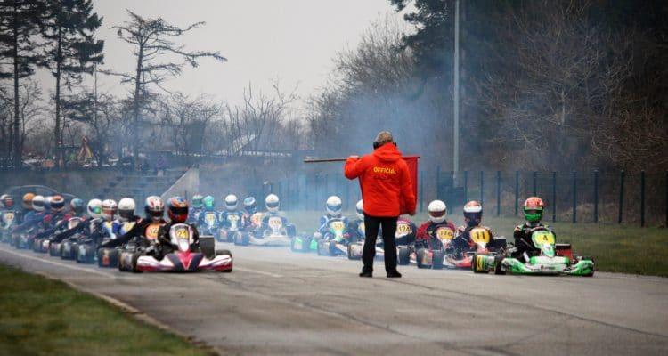 Starten går til KZ2-finale i Vojens i Dansk Super Kart, DSK.