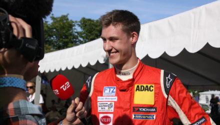 Den 18-årige racerkører Nicolai Sylvest er blevet nomineret som årets talent - Foto Anni Hansen