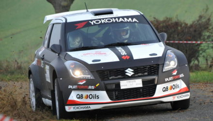 Guld til Suzuki Motorsport i dansk rally 2015