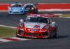 Billedtekst: Det blev til point i begge løb, da Mikkel O. Pedersen indledte sæsonen i Porsche Supercuppen i forbindelse med det spanske Formel 1 Grand Prix.