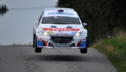 Kenneth Madsen og Henrik Dernoff var et af de tre mandskaber, som efter Stilo Rally Odder 2014 kunne kalde sig Danmarksmestre i rally.