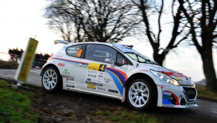 Christian Jensen og Freddy Pedersen sikrede ved Danboring Rally Denmark deres andet fælles Danmarksmesterskab for Peugeot Sport Dealer Team DK.