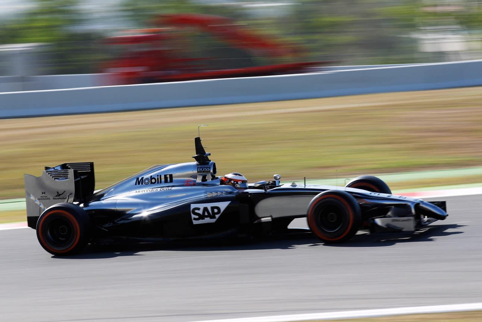 Title: Circuit de Catalunya, Barcelona, Spain..Wednesday 14 May 2014..Stoffel Vandoorne, McLaren MP4-29 Mercedes..World Copyright: Sam Bloxham/LAT Photographic..ref: Digital Image _G7C9544.JPG