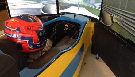 Team FormulaSport klar med professionel simulator