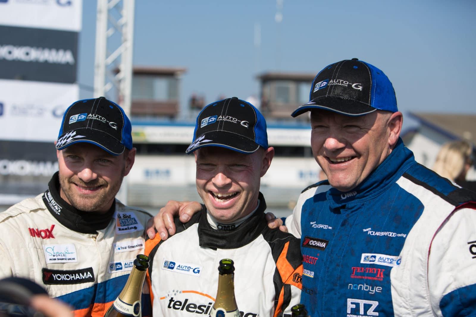 Casper Elgaard, Jan Magnussen, John Nielsen DTC Åbningsløbet 2014 Foto: Thomas Norsted / Racemag