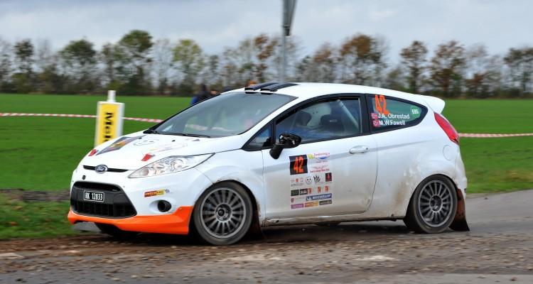 Joar Andre Obrestad og Martin William Fawell bliver et af de udenlandske hold, som deltager i Danboring Rally Denmark den 31. oktober og 1. november.