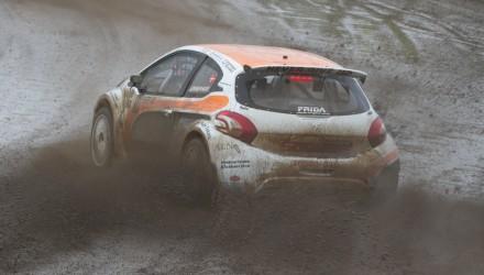 Rallycross, DM, S1600, Ulrik Linnemann, Peugeot 208, Foto: Gripping Media