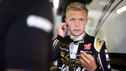 Kevin Magnussen under Storbritanniens GP 2019. Foto: Haas F1 Team