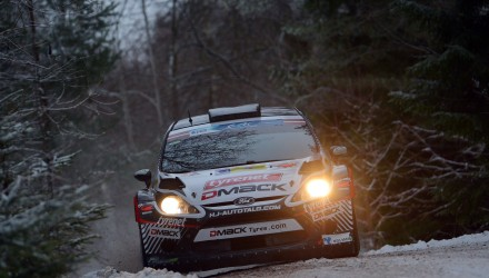 Jari Ketomaa (FIN) Kaj Lindström (FIN) Ford Fiesta RRC