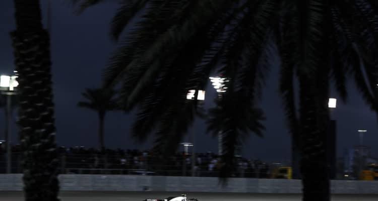 Kevin Magnussen i Abu Dhabi 2018