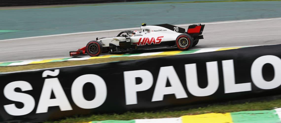 Kevin Magnussen og Haas F1 Team kom fra det brasilianske Grand Prix med point