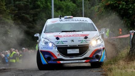 Kim Madsen og Line Lykke Jensen kommer til Danboring Rally Denmark som nykårede Danmarksmestre. De skal i kamp med deres norske og svenske kolleger.