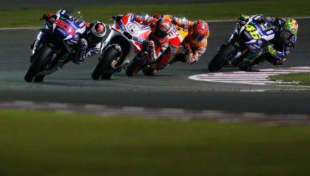 Lorenzo tog sejren i Qatar