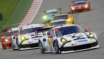 2014 Tudor United SportsCar Championship - Circuit Of The Americas, Michael Christensen, Porsche. Foto: Porsche AG