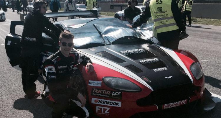 24H Series - Nicolai Sylvest før starten på anden del af løbet