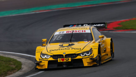 Oschersleben (DE) 11th September 2015. BMW Motorsport, Timo Glock (DE) DEUTSCHE POST BMW M4 DTM. This image is copyright free for editorial use © BMW AG (09/2015).