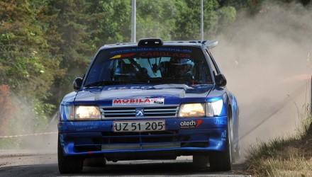 Kenneth Kolbe og Jeannette Kvick starter i den deltagermæssigt største klasse ved AutoPartner / Ans Kro Rally GP – den klasse, som de sidste år vandt.