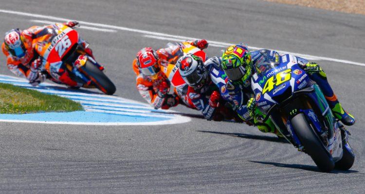 Rossi Sejrer på Jerez
