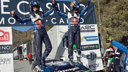 Sebastian Ogier vinder Monte Carlo Rally 2016