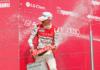 Nicklas Nielsen på podiet på Nürburgring