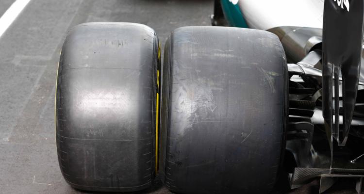 Pirellis nye formel 1 dæk 2017 sammenlignet med 2016 udgaven