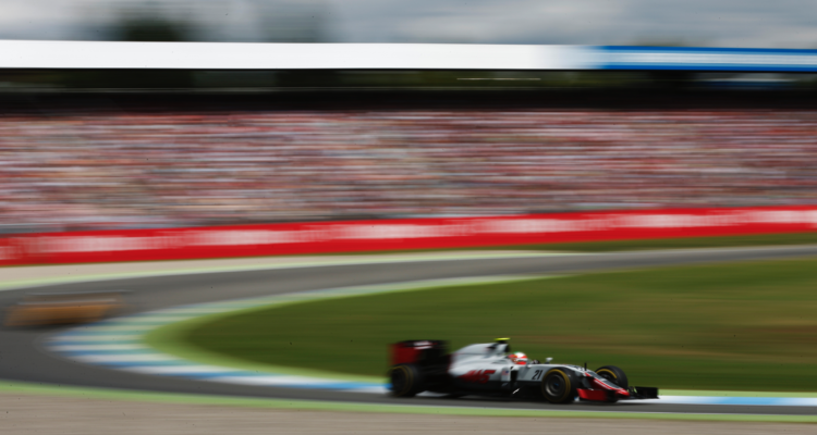 Haas Kevin Magnussen får nye Ferrari motor i 2017