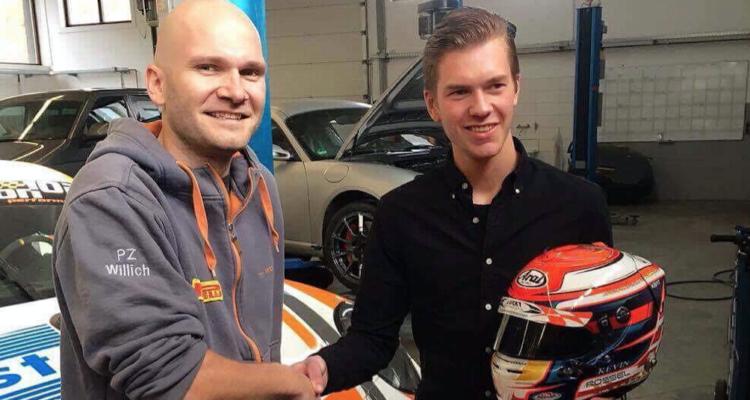 Kevin Rossel skal køre GT4 i 2017